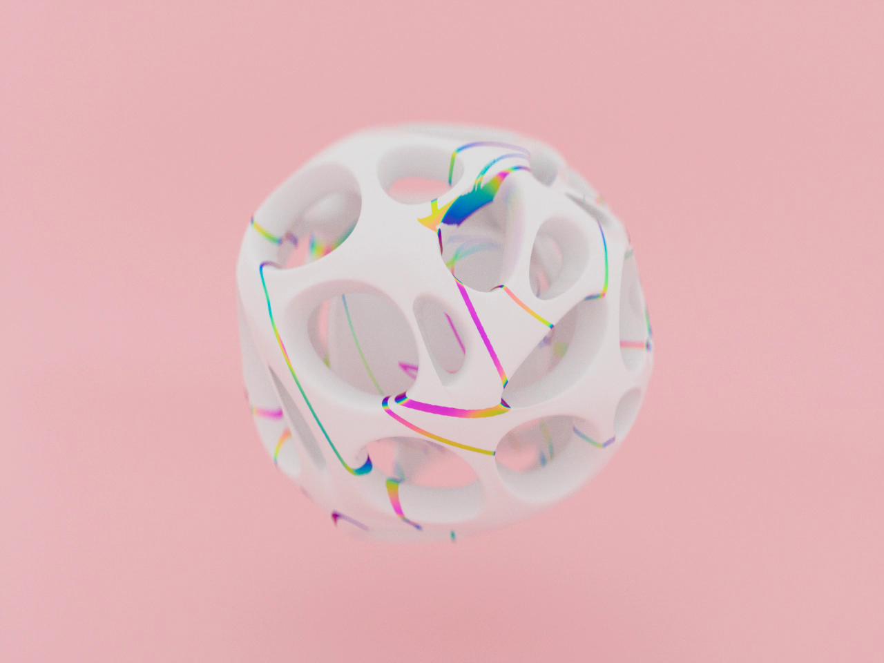 C4d  animation boo dribbble