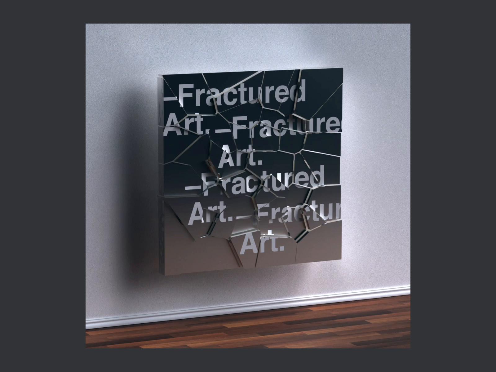 C4d  136 fracturedart dribbble