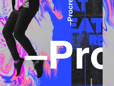 S&Go.304.Procreate. ipad ipad2018 phostoshop procreate collageart adobe photoshop collage gradient posterdesign retro art color vector texture swiss illustration poster type typography
