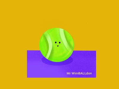 Mr WimBALLdon. 🎾