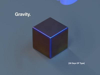 36 Days OF Type   G   Gravity. 36daysoftype-g 2019 creative font color logo cinema4d 36daysoftype06 36daysoftype illustration procreate app apple