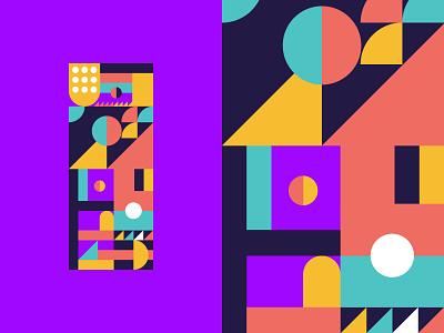 36 Days OF Type | i | imagine. grid imagination pattern vector 36daysoftype-i 2019 creative color logo 36daysoftype06 36daysoftype purple