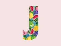 36 Days OF Type | j | Juicy.