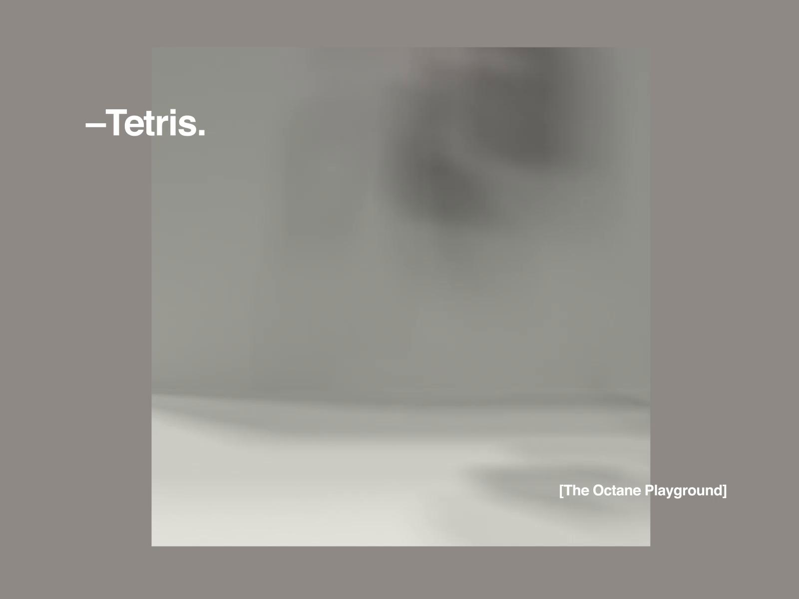C4d may2019 007 tetris dribbble