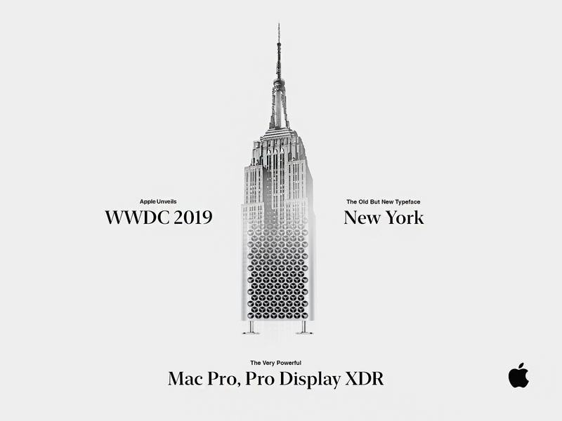 New York. New York. apple macpro newyork wwdc2019 octane render octane cinema4d adobe art poster artist motion branding design