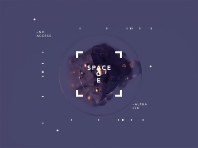SPACE AGE   Infection r20 cinema4dr20 spaceart minimal typography identity logomark logo packaging gradient design type branding octane cinema4d motion animated motiondesign spaceship scifi