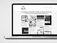 SJQ Portfolio website - August 2012