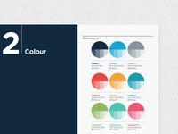 Colour palette / brandbook