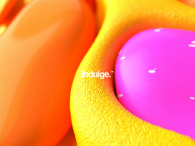 Indulge.™ logo abstract logo brand animation abstract r20 cinema4d motiondesign motion