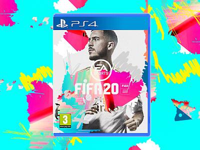 FIFA 20 realmadrid footballer youtube twitch volta easports concept hazard cover playstation4 playstation football ps4 fifa fifa20