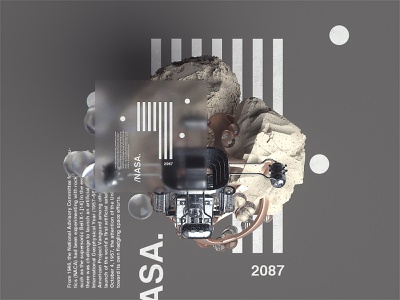 Space Age l 2087 scifiart texture octanerender art spaceship nasa c4d octane cinema4d spaceart scifi space