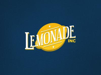 Lemonade Inc logo logomark identity yellow blue texture fun