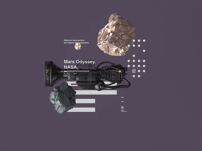 Space Age l NASA | Mars Odyssey nasa madebystudiojq spaceman octanerender octane space motion scifi cinema4d spaceship