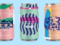 Beer Cans | Batch 2 typography type color beer art pattern texture packaging beers photoshop logo branding can beer branding collage abstract beercans beer