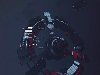 NASA l Distort movie film interstellar animation motion scifi space octanerender octane c4d c4dr20