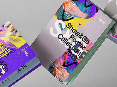 S&G Portfolio procreate art everyday abstract photoshop illustration layout type studiojq portfolio book posterdesign poster