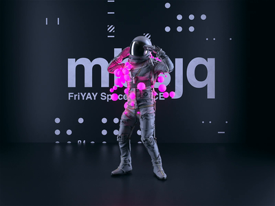 MBSJQ FriYAY Space Party movie film interstellar animation motion scifi space octanerender octane c4d c4dr20
