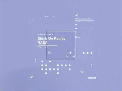 NASA l Stuck On Replay c4dr21 movie film interstellar animation motion scifi space octanerender octane c4d