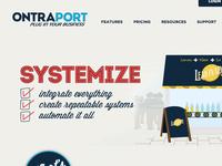 Website design & illustration...