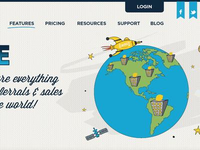 Website design & illustration 2...