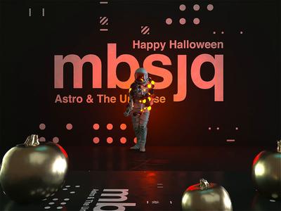 Happy Halloween from Astro thriller halloween party halloween astronaut astro c4dr21 movie film interstellar animation motion scifi space octanerender octane c4d c4dr20