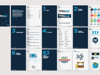 Ontraport branding deck branding deck branding guidelines illustration icons iconset texture graphic design studiojq bristol freelance