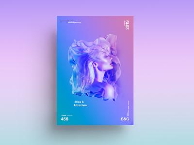 [Kiss & Attraction] sexy fashion octane cinema4d posterart swiss photography type photoshop adobe art