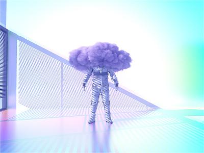 Head in the Clouds astronaut astro c4dr21 movie film interstellar animation motion scifi space octanerender octane c4d c4dr20