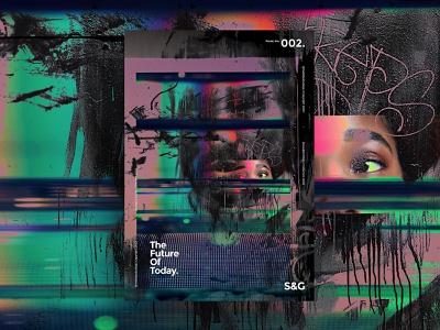 Show&Go2020™ 002 | The Future Of Today. madebystudiojq color type adobe photoshop surreal abstract poster art poster