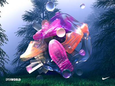 Got To Pump It Up! Open World. 2020 outdoors pumps trainers subsurface scattering advertising octane cinema4d c4d nikeair nikeairmax nike