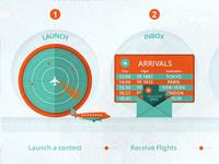 LAUNCH & INBOX icons