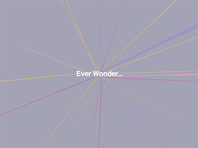 Ever Wonder...