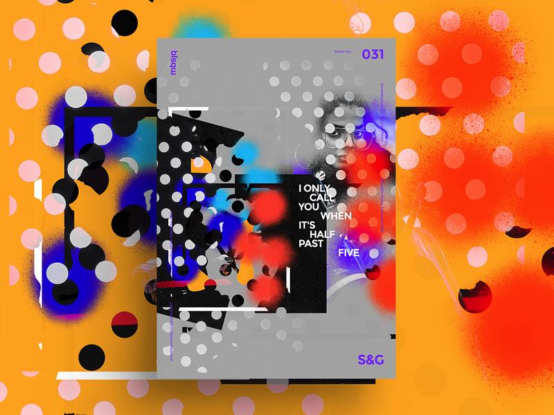 Show&Go2020™ 031 | Half Past Five illustrator mbsjq branding graffiti adobe poster art procreate collage poster illustration