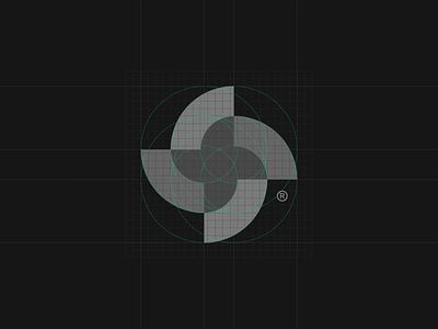S® business geometry mark branding logotype symbol brand identity logo