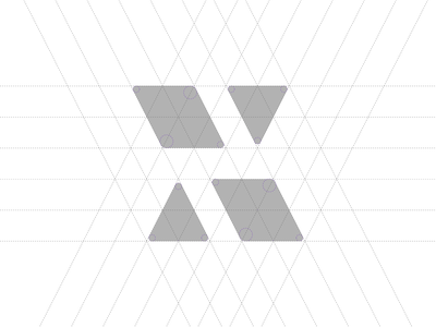 X® minimal geometry type education mark branding logotype symbol brand identity logo