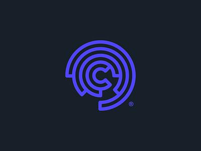 C® type monogram mark branding logotype symbol brand identity logo