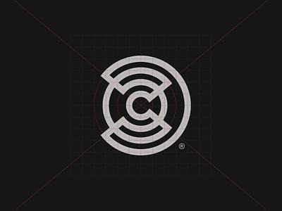 C® production mark film branding logotype symbol brand identity logo