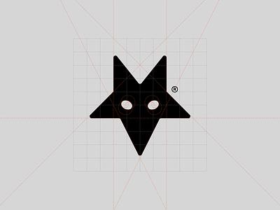 Fox® streetwear clothing branding logotype symbol brand identity logo