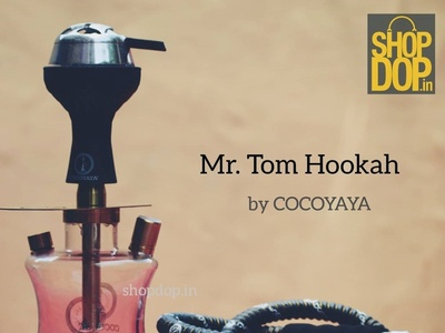 Mr Tom Hookah by COCOYAYA hukkah mr tom hookah mr tom hookah cocoyaya branding shisha hookah hookah flavours flavours shopdop.in