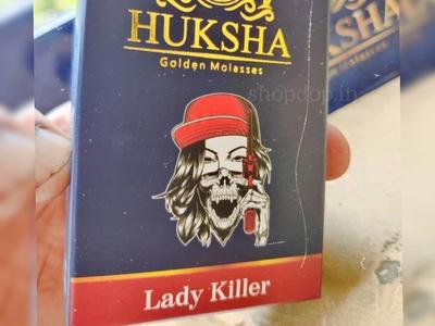 Huksha Lady Killer Hookah Flavour Online in India shisha molasses hookah accessories huksha shisha hukkah hookah flavours hookah flavours shopdop.in