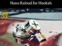 Nano Kaloud (Heat Management System) for Hookah | Best Accessory heat management device chillum logo accessories branding heater heat management system kaloud hookah accessories hukkah shisha hookah shopdop.in