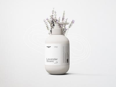 LAVANDER soapbox flower lavander package mockup package design lettering typography minimal design branding soap packaging packagedesign soap package