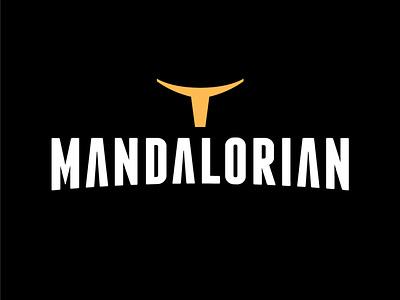 Mandalorian star wars day star wars art lettering artwork typography vector flat minimal logo design branding star wars yoda mandalorian