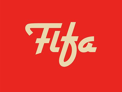 FIFA fifa 20 font lettering artwork typography vector flat minimal logo branding design football logo football fifa