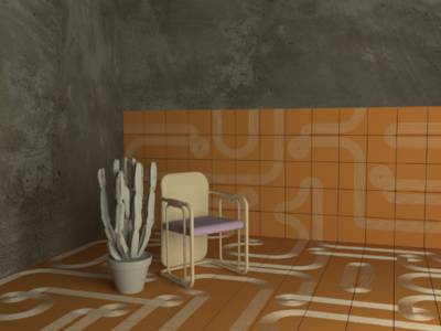 3d ceramic design | render illustrator ui interior design interior ceramic vray illustration render 3d model 3d