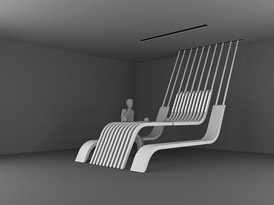 INCOGNITO white black future design furniture render vray 3dsmax model 3dmodel 3d