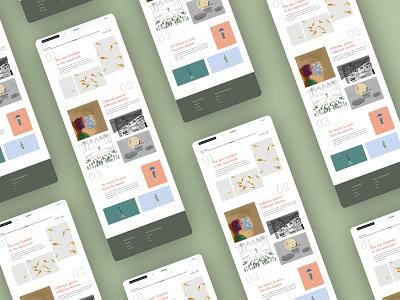 Sincerely Postcards 2 | Website Design website design webdesign website vector branding uiux uidesign ux design ui illustration