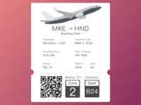 Day 24 - Boarding Pass