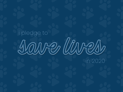 New Year's Resolution: Save Lives typography art weekly typography weekly warm-up weeklywarmup dribbble design uidesign ui