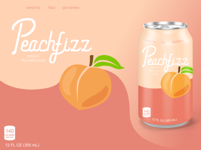 Dribbble Weeky Warmup - Fictional Soda